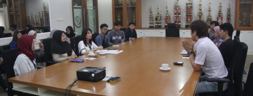 Jajaki Kerjasama Internship dengan Studi Jepang OHM