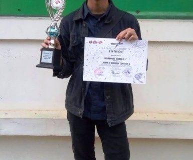 2 Mahasiswa Prodi Bahasa Jepang  memperoleh juara ke-3 di Japan Zuki Show UPI