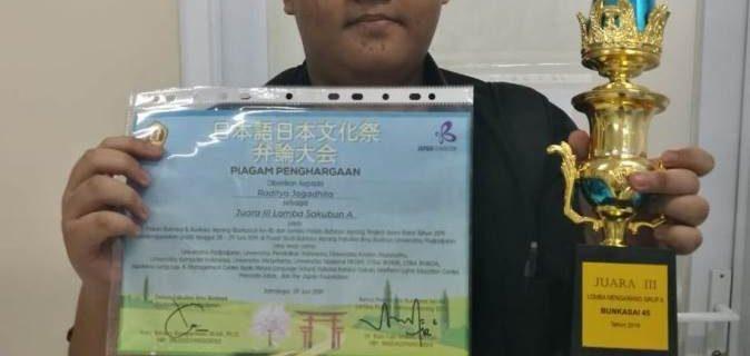 Mahasiswa Prodi Bahasa Jepang memperoleh juara ke-3 di Bunkasai UNPAD